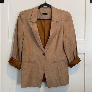 2/$25 Vero Moda NWOT Linen Blend Blazer Size 38